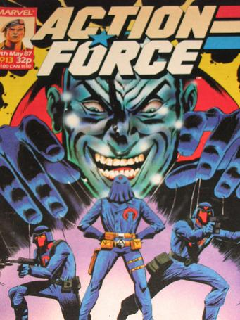 ACTION FORCE comic, 1987 issue Number 13 for sale. Original British publication from Tilleys, Cheste