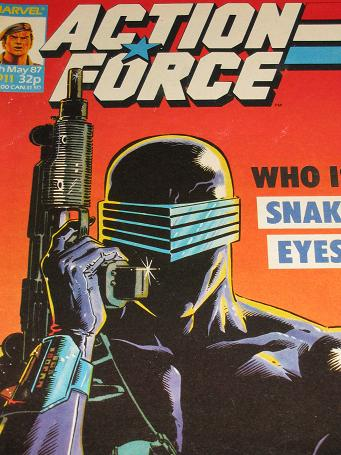 ACTION FORCE comic, 1987 issue Number 11 for sale. Original British publication from Tilleys, Cheste