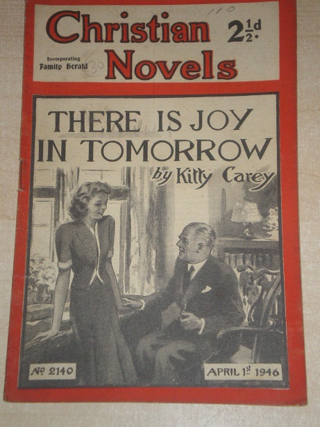 CHRISTIAN NOVELS, April 1 1946 issue for sale. KITTY CAREY, 2140. Original British publication from