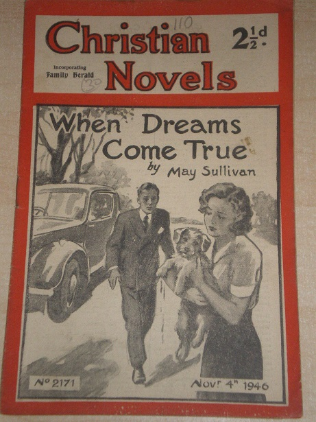 CHRISTIAN NOVELS, November 4 1946 issue for sale. MAY SULLIVAN, 2171. Original British publication f