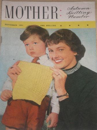 MOTHER magazine, September 1951 issue for sale. Original British publication from Tilley, Chesterfie