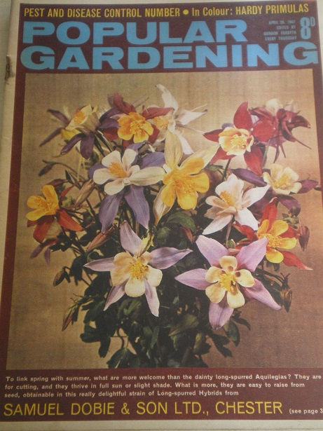POPULAR GARDENING magazine, April 29 1967 issue for sale. Original BRITISH publication from Tilley,