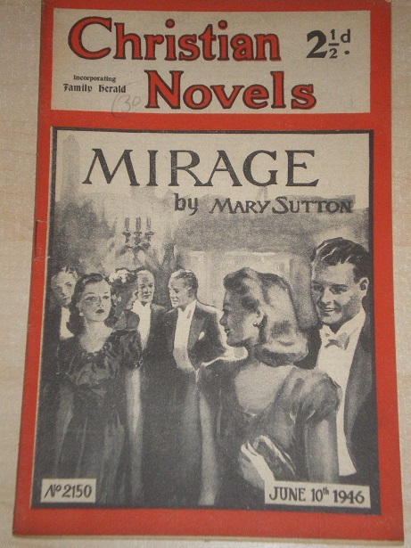 CHRISTIAN NOVELS, June 10 1946 issue for sale. MARY SUTTON, 2150. Original British publication from