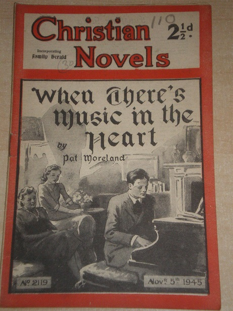 CHRISTIAN NOVELS, November 5 1945 issue for sale. PAT MORELAND, 2119. Original British publication f