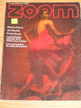 ZOOM LE MAGAZINE DE L IMAGE NUMBER 48 BACK ISSUE FOR SALE 1977 PHOTOGRAPHY VINTAGE QUALITY FRENCH PU