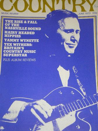 COUNTRY magazine, June 1973 issue for sale. CHET ATKINS. Original publication from Tilley, Chesterfi