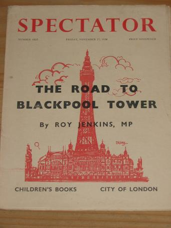 SPECTATOR MAGAZINE NOVEMBER 27 1959 BACK ISSUE FOR SALE BLACKPOOL TOWER VINTAGE PUBLICATION PURE NOS