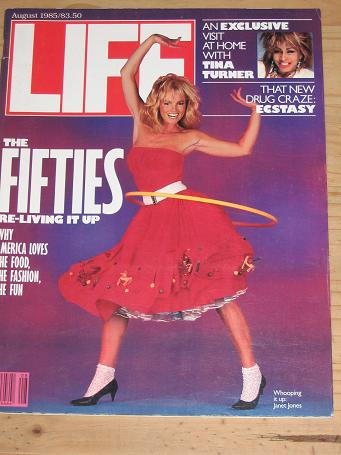 LIFE MAGAZINE AUGUST 1985 BACK ISSUE FOR SALE TINA TURNER VINTAGE PUBLICATION PURE NOSTALGIA ARCHIVE