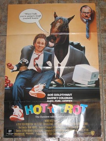 ORIGINAL MOVIE POSTER HOT TO TROT 1988 FOR SALE PURE NOSTALGIA ARCHIVES CLASSIC IMAGES OF THE TWENTI