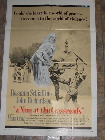 ORIGINAL MOVIE POSTER A NUN AT THE CROSSROADS 1969 FOR SALE PURE NOSTALGIA ARCHIVES CLASSIC IMAGES O