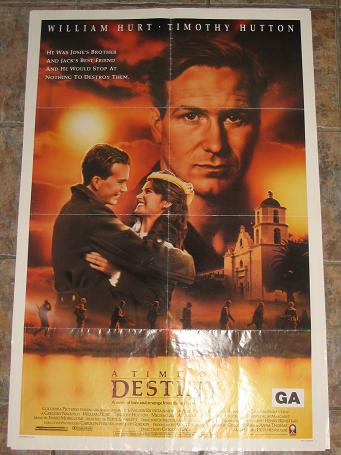 ORIGINAL MOVIE POSTER A TIME OF DESTINY 1988 FOR SALE PURE NOSTALGIA ARCHIVES CLASSIC IMAGES OF THE