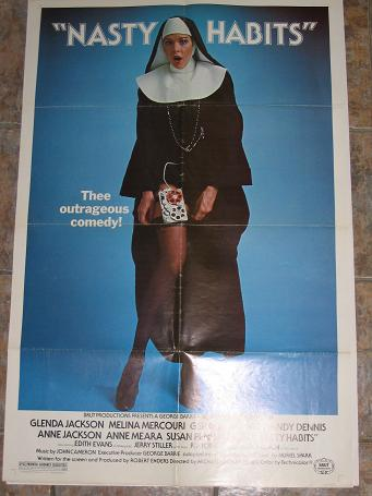ORIGINAL MOVIE POSTER NASTY HABITS 1977 FOR SALE PURE NOSTALGIA ARCHIVES CLASSIC IMAGES OF THE TWENT