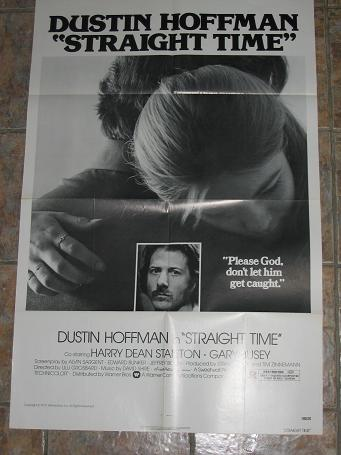 ORIGINAL MOVIE POSTER STRAIGHT TIME 1978 FOR SALE PURE NOSTALGIA ARCHIVES CLASSIC IMAGES OF THE TWEN