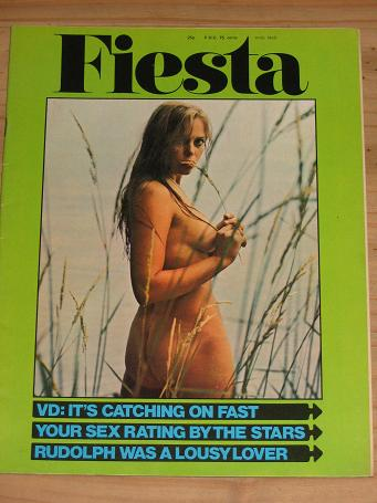 SCARCE FIESTA MAGAZINE VOLUME 5 NUMBER 3 ISSUE FOR SALE 1971 VINTAGE ADULT MENS GLAMOUR PUBLICATION