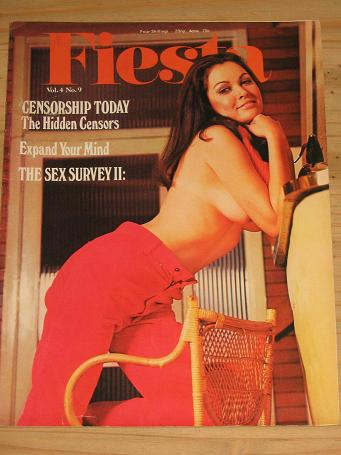 SCARCE FIESTA MAGAZINE VOLUME 4 NUMBER 9 ISSUE FOR SALE 1970 VINTAGE ADULT MENS GLAMOUR PUBLICATION