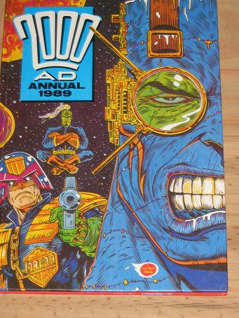 2000 A.D. ANNUAL 1989 FOR SALE VINTAGE SCIENCE FICTION GIRLS BOYS TEEN PUBLICATION PURE NOSTALGIA AR