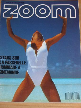 ZOOM THE IMAGE MAGAZINE NUMBER 132 BACK ISSUE FOR SALE 1987 PHOTOGRAPHY VINTAGE QUALITY FRENCH PUBLI