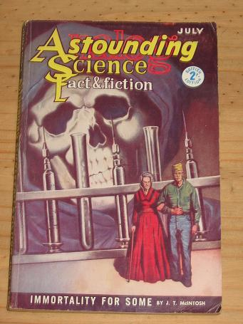 ASTOUNDING SCIENCE FICTION MAG JULY 1960 VINTAGE PULP PUBLICATION FOR SALE CLASSIC IMAGES OF THE TW