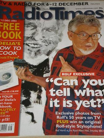 Tilleys Vintage Magazines : RADIO TIMES magazine, 6 - 12 December