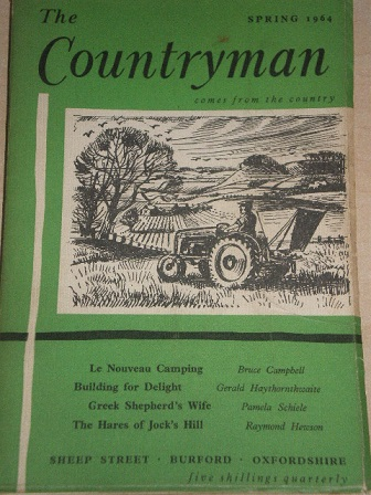 THE COUNTRYMAN magazine, Spring 1964 issue for sale. Original British publication from Tilley, Chest