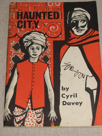 HAUNTED CITY by CYRIL DAVEY. ADVENTURE BOOKS No.2 1964. Scarce pocket-size paperback book for sale.