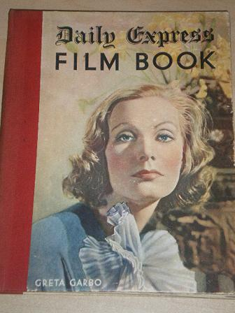 DAILY EXPRESS FILM BOOK 1935 issue for sale. GRETA GARBO. Original British MOVIE publication from Ti