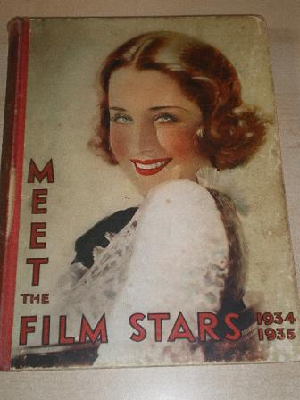 MEET THE FILM STARS 1934 - 1935 issue for sale. Original British MOVIE publication from Tilley, Ches