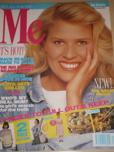 ME magazine, 26 June 1989 issue for sale. Original British publication from Tilley, Chesterfield, De