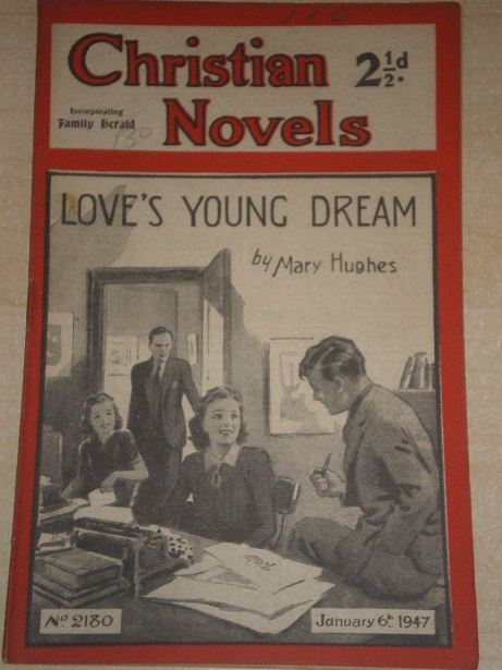 CHRISTIAN NOVELS, January 6 1947 issue for sale. MARY HUGHES, 2180. Original British publication fro