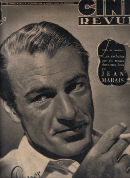 CINE REVUE 16 JAN 1948 GARY COOPER ROC N.3 VINTAGE MOVIE MAGAZINE