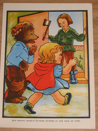 ORIGINAL CHILDRENS BOOK ILLUSTRATION FOR SALE COLOURED PRE 1960 FRAME NURSERY PURE NOSTALGIA ARCHIVE