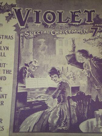VIOLET magazine, November 25 1927 issue for sale. SPECIAL CHRISTMAS NUMBER. Original British PULP ST