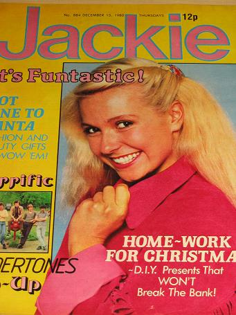 JACKIE magazine, December 13 1980 issue for sale. UNDERTONES. Original British TEEN publication from