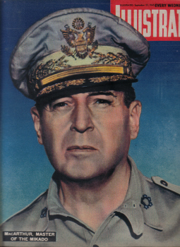 ILLUSTRATED SEP 22 1945 MacARTHUR BERLIN SWIMMING WELLINGTON