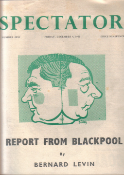 SPECTATOR MAG DEC 4 1959 BLACKPOOL LEVIN VINTAGE PUBLICATION FOR SALE CLASSIC IMAGES OF THE TWENTIET