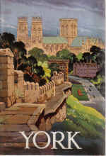 YORK 1965 OFFICIAL GUIDE KENNETH STEEL YORKSHIRE ENGLAND