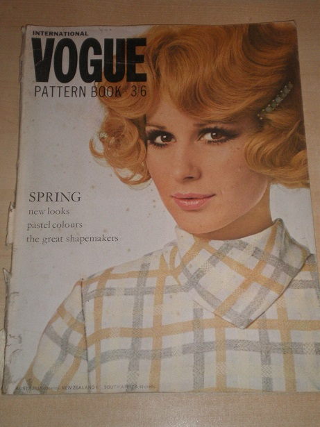VOGUE PATTERN BOOK, Spring 1968 issue for sale. Original UK publication from Tilley, Chesterfield, D