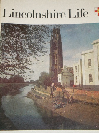 LINCOLNSHIRE LIFE magazine, September 1972 issue for sale. Original British publication from Tilley,