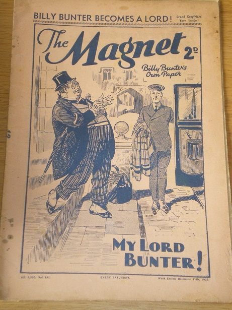 THE MAGNET story paper, December 11 1937 issue for sale. BILLY BUNTER, CHARLES HAMILTON, FRANK RICHA