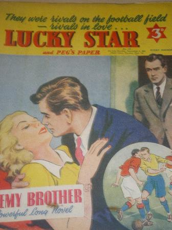LUCKY STAR, November 5 1951 issue for sale. Original British STORY PAPER from Tilley, Chesterfield,