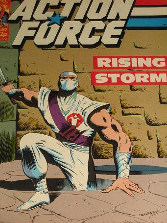 ACTION FORCE comic, 1987 issue Number 38 for sale. Original British publication from Tilleys, Cheste