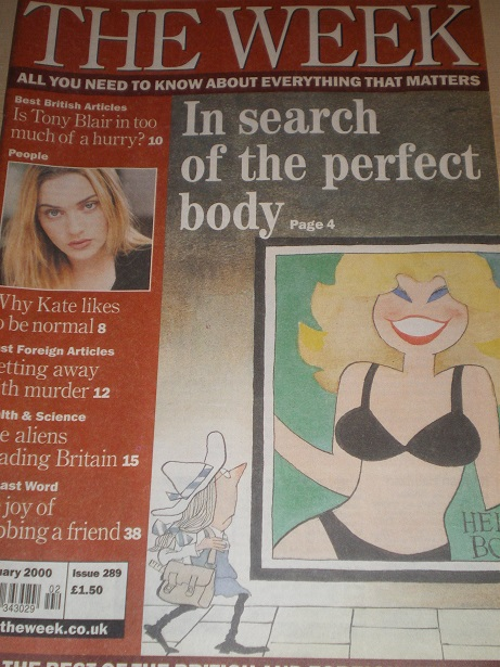 THE WEEK magazine, 13 January 2001 issue for sale. TROG. Original British NEWS publication from Till