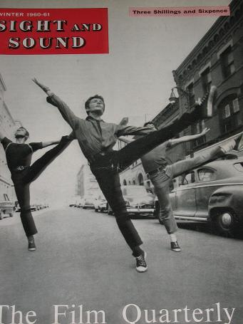 SIGHT AND SOUND magazine, Winter 1960 - 1961 issue for sale. WEST SIDE STORY. Vintage MOVIE, FILM pu