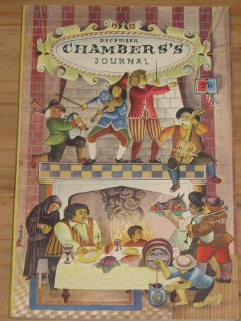 CHAMBER'S JOURNAL DECEMBER 1952 BACK ISSUE FOR SALE FLEMING CROMER VINTAGE PUBLICATION PURE NOSTALGI