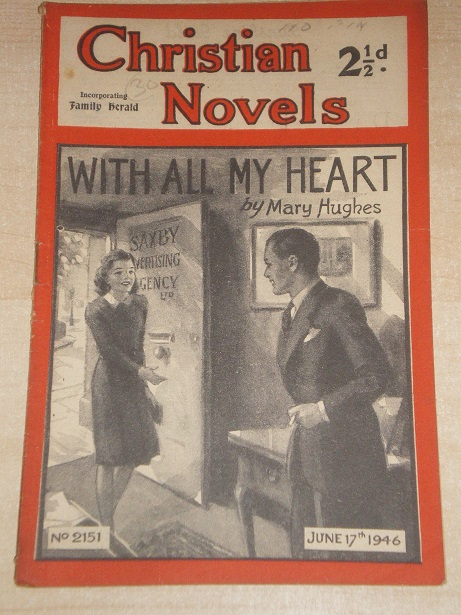 CHRISTIAN NOVELS, June 17 1946 issue for sale. MARY HUGHES, 2151. Original British publication from