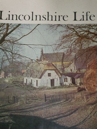 LINCOLNSHIRE LIFE magazine, February 1967 issue for sale. Original British SOCIETY publication from