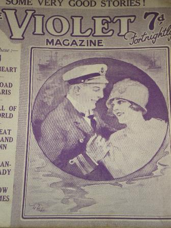 VIOLET magazine, November 9 1928 issue for sale. WALTON. Original British PULP STORY PAPER from Till