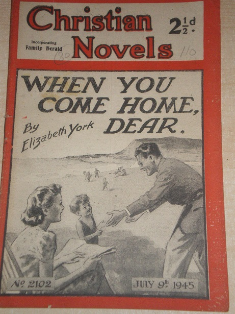 CHRISTIAN NOVELS, July 9 1945 issue for sale. ELIZABETH YORK, 2102. Original British publication fro