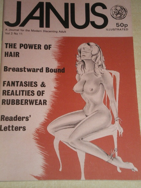 JANUS magazine, Volume 2 Number 11 issue for sale. Original British ADULT publication from www.Tille