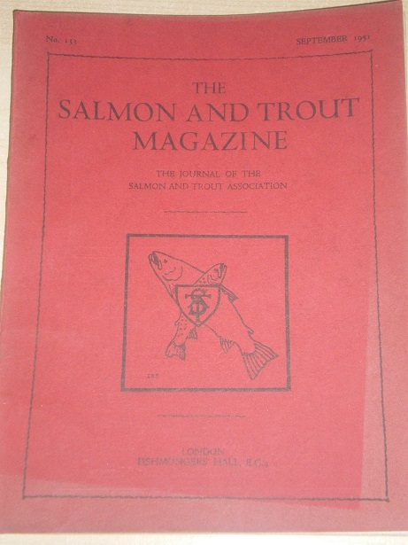 THE SALMON AND TROUT MAGAZINE, Number 133, September 1951 issue for sale. ICELANDIC CHAR, QUIET FLOW